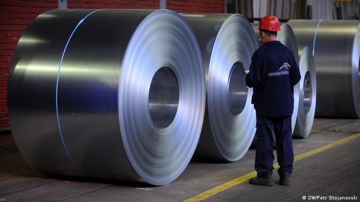 Mazedonien Skopje Arcelor Mital-Fabrik