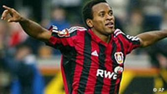 Der brasilianische Fußballer Ze Roberto