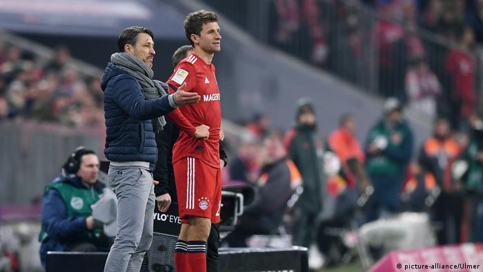 Fußball 1. Bundesliga Saison 18/19: FC Bayern München - SC Freiburg