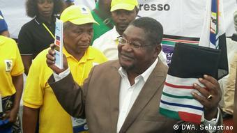 Mosambik RENAMO Oppositionspartei neuer Vorsitzender Ussufo Momade
