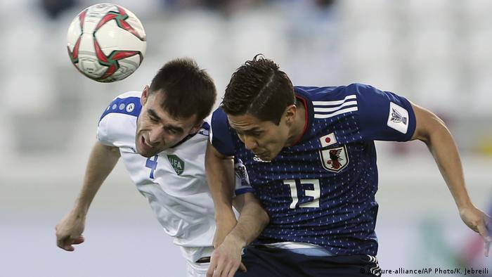 Fußball AFC Asian Cup Japan - Usbekistan (picture-alliance/AP Photo/K. Jebreili)