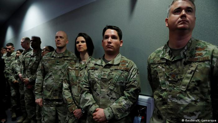 USA Arlington Präsident Trump Ankündigung zur Raketenabwehr (Reuters/K. Lamarque)