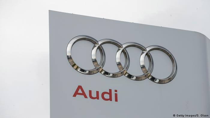 An Audi store