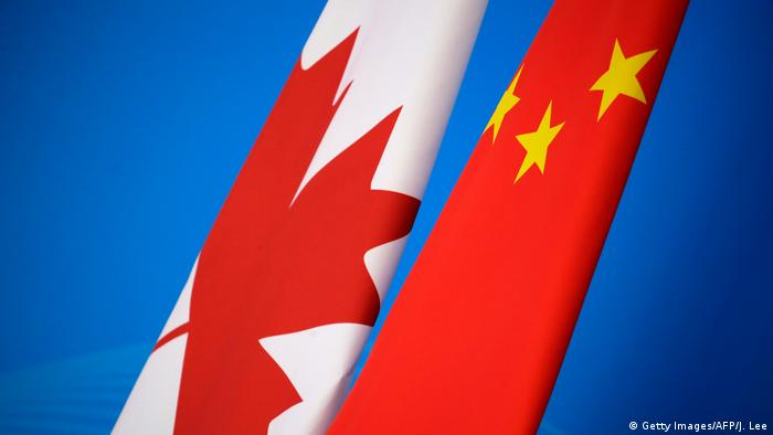 Symbolbild Diplomatie China Kanada (Getty Images/AFP/J. Lee)