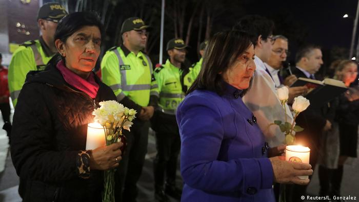 A vigil was held to honor the victims of the attack