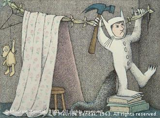 Final drawing for Where the Wild Things Are. Foto : Maurice Sendak, 1963