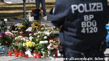 Deutschland Gedenkort in Chemnitz nach Messerangriff