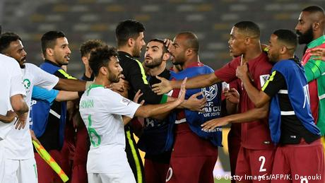 AFC Asian Cup group E - Saudi Arabien vs Katar (Getty Images/AFP/K. Desouki)