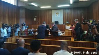 Südafrika Johannesburg Ex-Finanzminister Manuel Chang vor Gericht