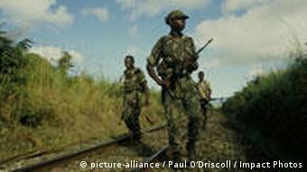 Bürgerkrieg in Mosambik (Archiv 1983, Foto: ap)