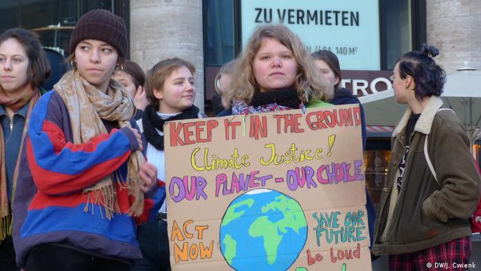 Schülerprotest in Köln Klimaschutz
