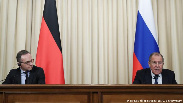 Sergey Lavrov & Heiko Maas in Moscow
