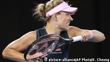 Australien Open Tennis - Angelique Kerber (picture-alliance/AP Photo/K. Cheung)