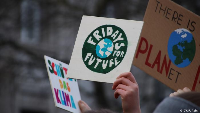 Schülerdemonstration Fridays for Future in Bonn (DW/F. Apfel)