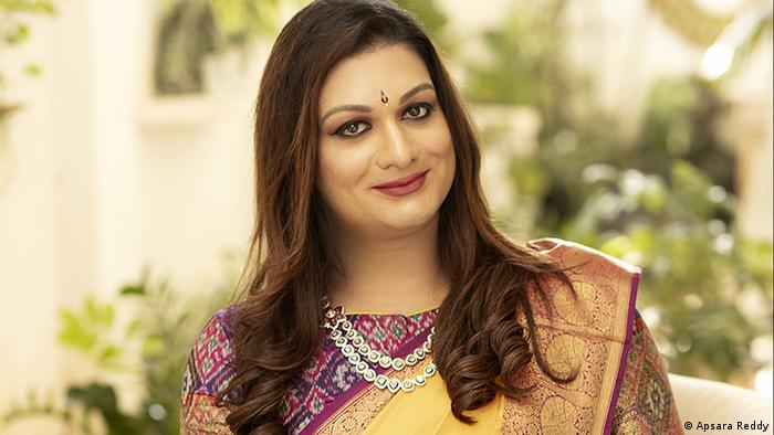 Indian transgender politician Apsara Reddy: ′I want to be