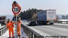 Deutschland 130 KmhTempolimit
