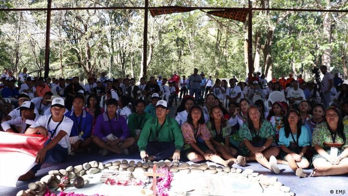 Jóvenes católicos de 30 pueblos indígenas de 12 países latinoamericanos están presentes en el encuentro en Panamá.