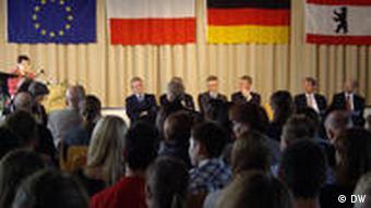 Prezentacja podręcznika w berlińskiej szkole średniej im. Gabriele von Buellow