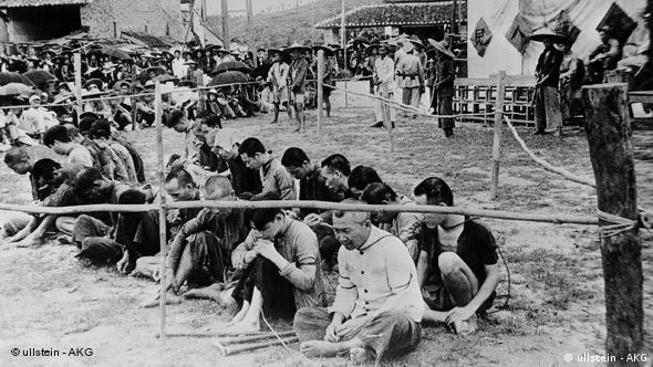 China Flash-Galerie 60 Jahre Volksrepublik 1953 Porzeß gegen Grossgrundbesitzer