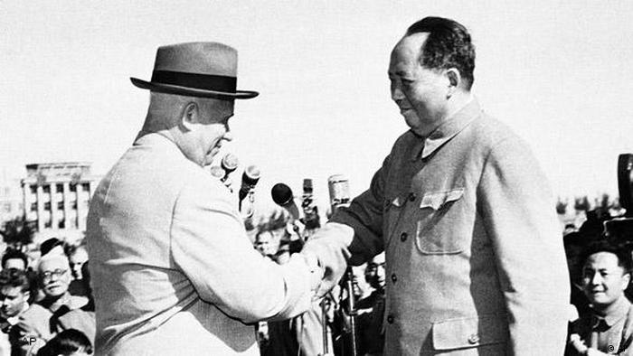China Flash-Galerie 60 Jahre Volksrepublik 1959 Mao Zedong und Nikita Chruschtschow