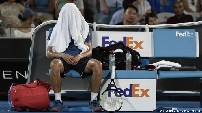 Australien Hitzewelle- Sydney International Tennis 2019