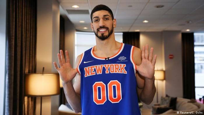 Enes Kanter türkischer NBA Basketballspieler