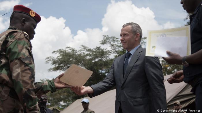 Russland - Zentralafrikanische Republik | Militärkooperation (Getty Images/AFP/F. Vergnes)