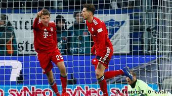 1. Bundesliga | TSG 1899 Hoffenheim vs. FC Bayern München | Torjubel (0:2) (Reuters/R. Orlowski )