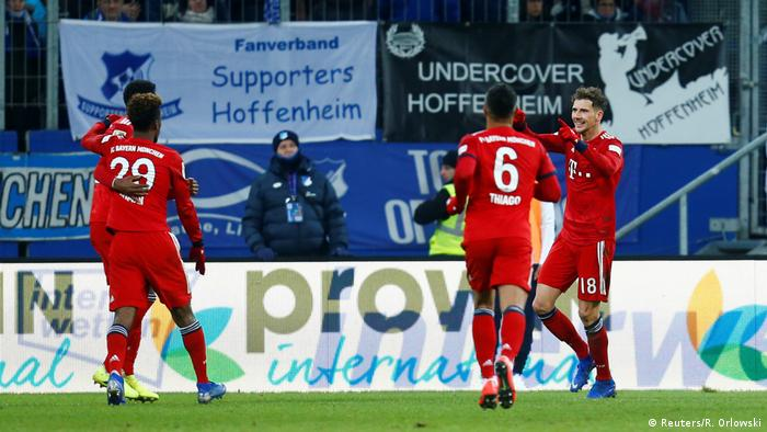 Bayern Munich's Leon Goretzka enjoys and excels in 2019 Bundesliga opener