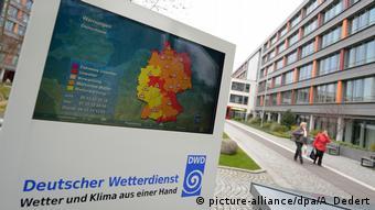 Штаб-квартира Немецкой метеорологической службы в Оффенбахе