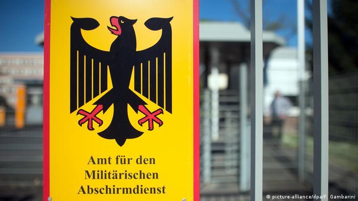 Amt für den Militärischen Abschirmdienst (picture-alliance/dpa/F. Gambarini)