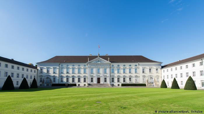 Дворец Бельвю (Schloss Bellevue) - официальная резиденция федерального президента Германии