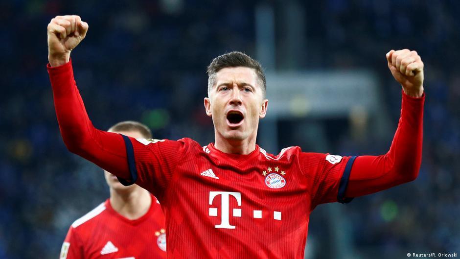 Robert Lewandowski's top 3 goals