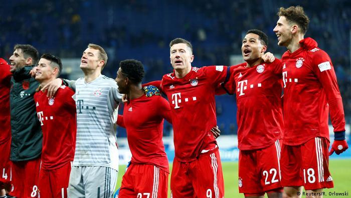 1. Bundesliga   TSG 1899 Hoffenheim vs. FC Bayern München   (Reuters/R. Orlowski)