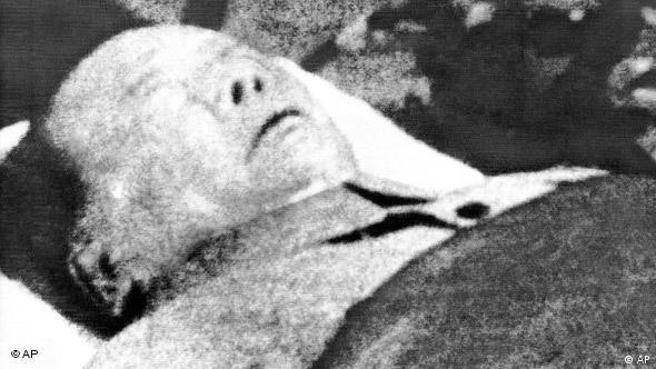 Tijelo mrtvog Maoa