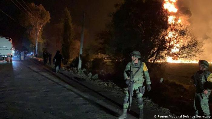 Mexico: Deadly blaze erupts at illegal fuel pipeline