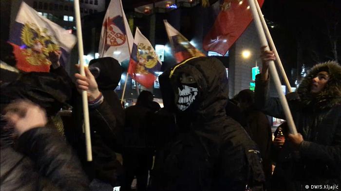 Proteste Serbien
