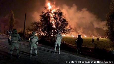 Мексика: число загиблих унаслідок вибуху трубопроводу зросло до 73