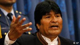 Evo Morales apoya una reforma de la CIDH.