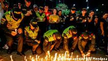 Kolumbien Anschlag auf Polizeischule in Bogota