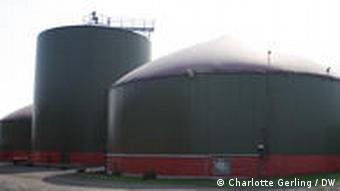 Biogasanlage in der Nähe von Euskirchen