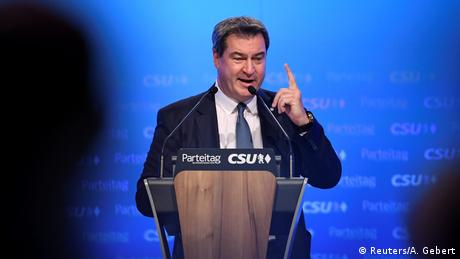 Новим головою ХСС став прем'єр-міністр Баварії Маркус Зедер