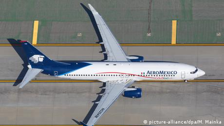 Aero Mexico plane (picture-alliance/dpa/M. Mainka)