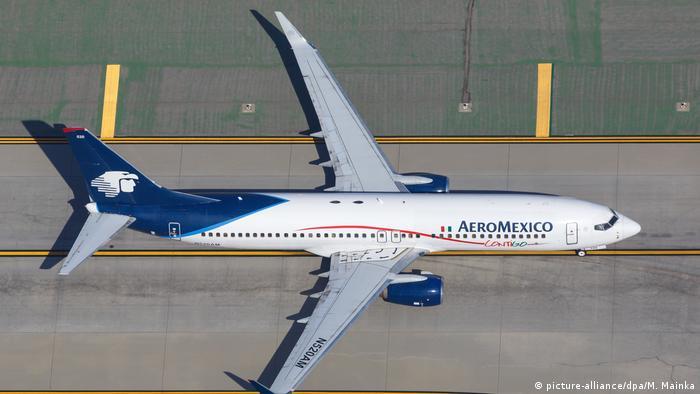 Aero Mexico plane (picture-alliance/dpa/M. Mainka)