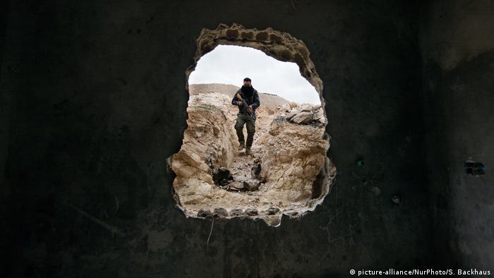 Участник конфликта в Сирии