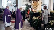 Polen Danzig Beisetzung Pawel Adamowicz