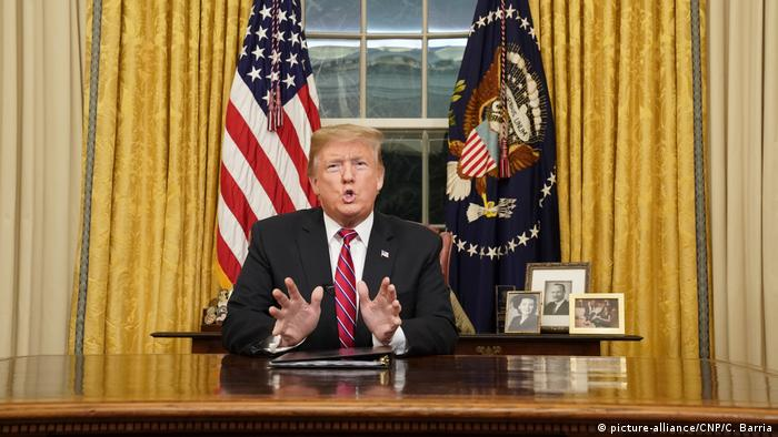 Präsident Trump Rede an die Nation (picture-alliance/CNP/C. Barria)