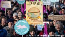 Berlin Demonstration für Agrarwende