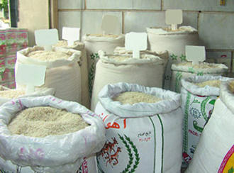 برنج یکی از واردات مهم به ایران