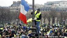 Paris Protest Gelbwesten
